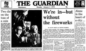 The Guardian, 1 January 1973.