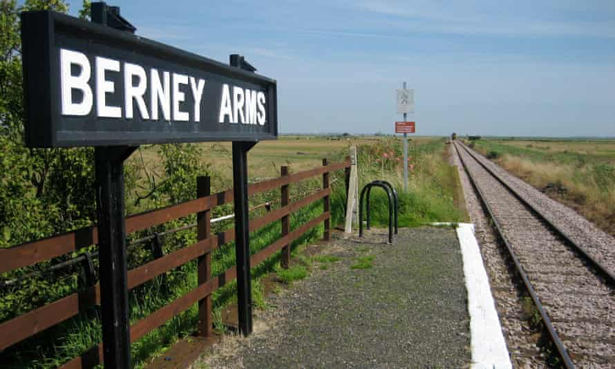 Berney Arms station in Norfolk