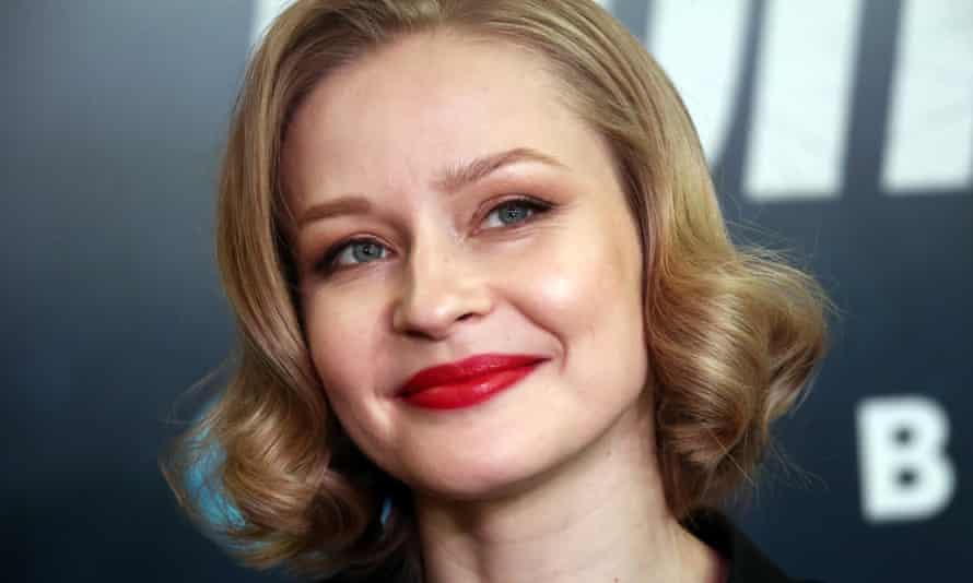 The Russian actor Yulia Peresild