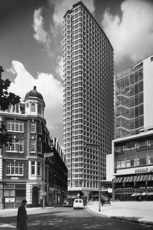 Centre Point, the office tower in central London that thrust the developer Harry Hyams into the limelight.
