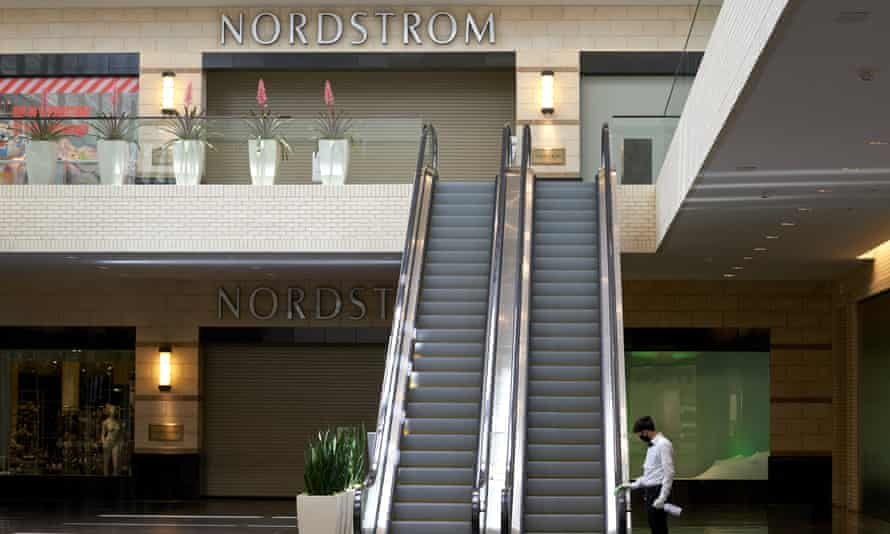 NorthPark Center mall in Dallas, Texas, which is taking significant steps to reopening businesses, including restaurants, theaters and malls.