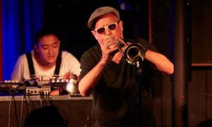 Dave Douglas on trumpet with Shigeto on electronics.