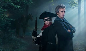 It's all me, me, me … Maisie Williams and Peter Capaldi.