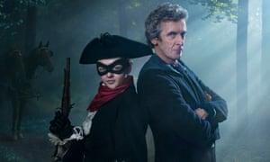 Maisie Williams and Peter Capaldi.