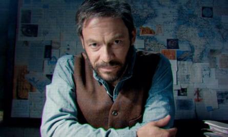 Lacklustre … Dominic West as Lara's aristocratic father.
