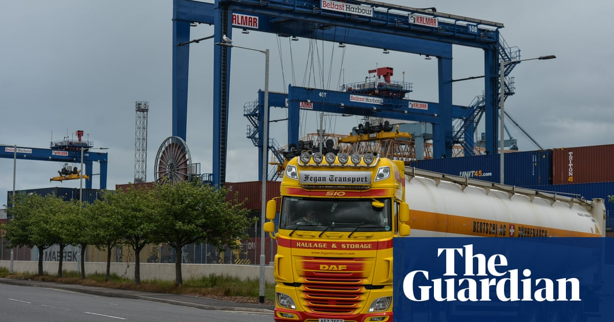 Northern Ireland voters split on need for Brexit checks, poll reveals
