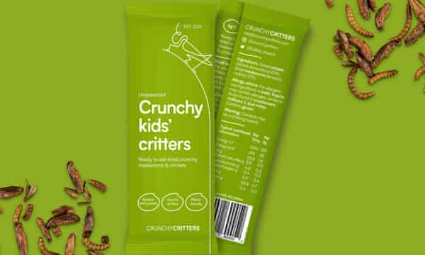 Packets of Crunchy Kids Critters