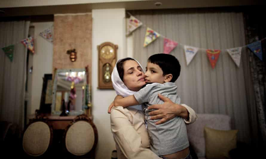 Nasrin Sotoudeh after her release in 2013. She has been arrested again in a judicial crackdown.