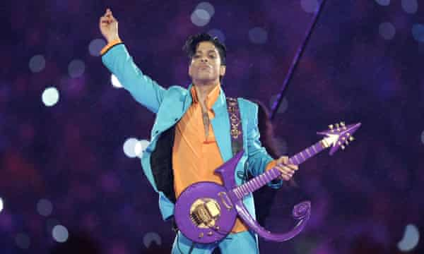 Prince … always defying convention.