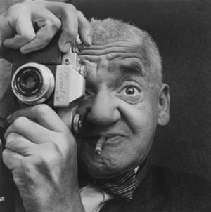 Portrait 'Weegee the Famous' 1963