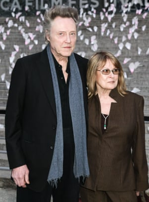 Christopher Walken with his wife Georgianne