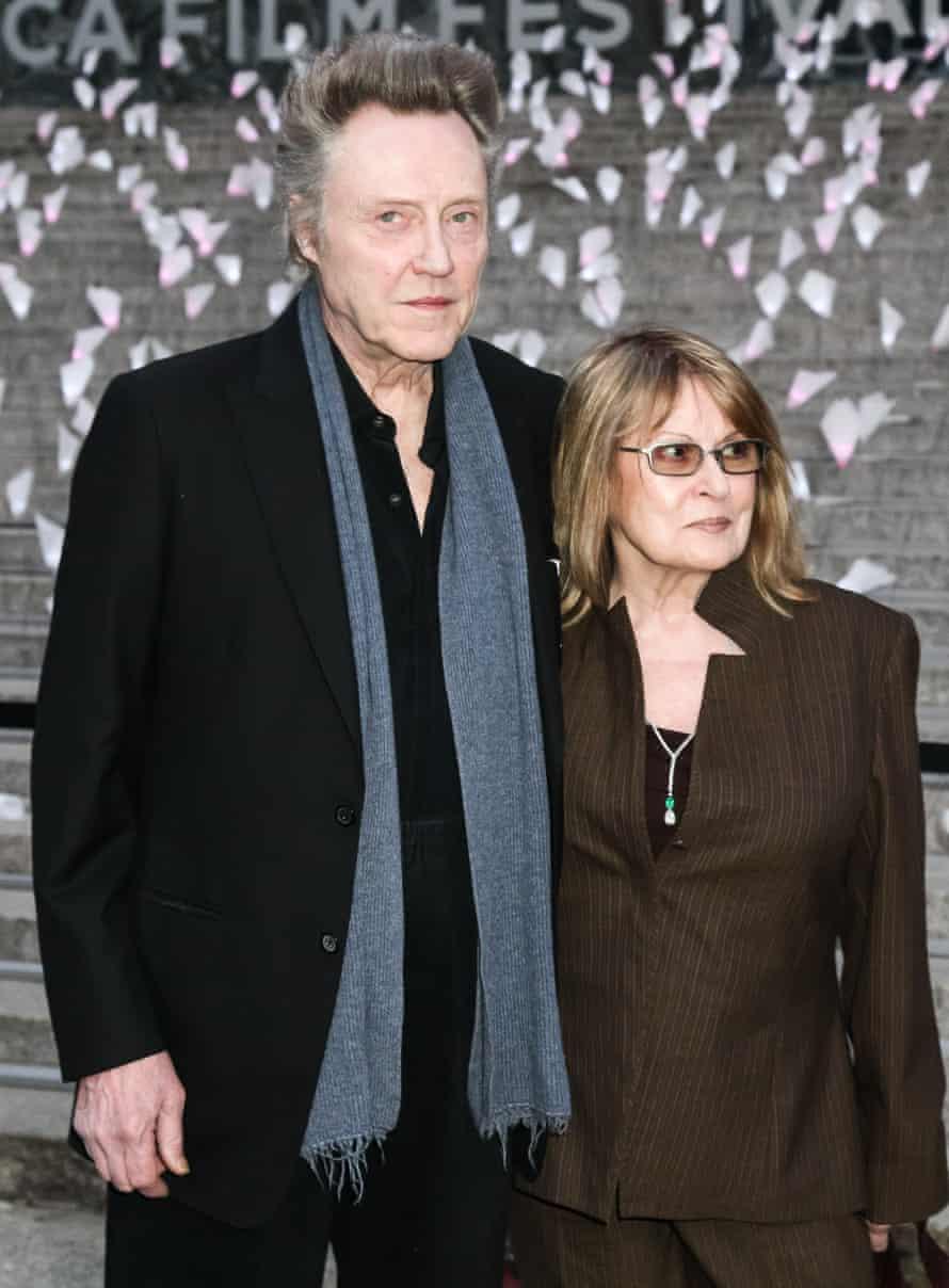 Christopher Walken with his wife Georgianne