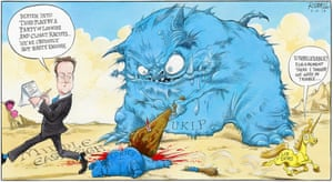Chris Riddell on the Eastleigh by-election.