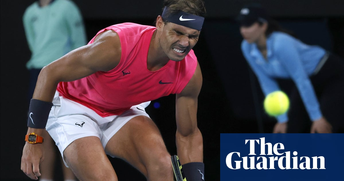 Rafael Nadal crashes out of Australian Open after thriller with Dominic Thiem | Sport | The Guardian