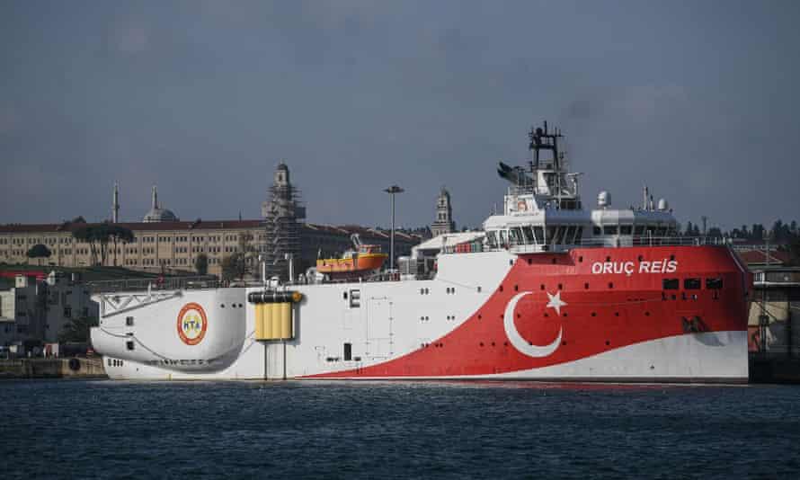 Turkish exploration ship Oruç Reis