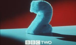 A furry BBC Two logo