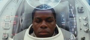 John Boyega in Star Wars: The Last Jedi
