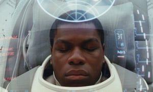 John Boyega as Finn in Star Wars: The Last Jedi