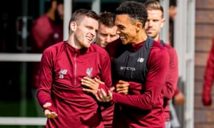 Andy Robertson and Trent Alexander-Arnold