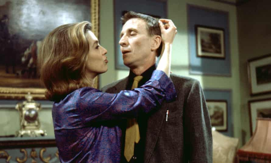 Patricia Haines and Alfred Burke in Public Eye.