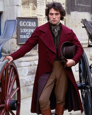 Rufus Sewell as Will Ladislaw in the BBC's 1994 adaptation of Middlemarch.