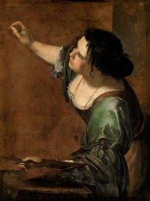 Artemisia Gentileschi's Self-portrait as the Allegory of Painting (La Pittura), c.1638-9.