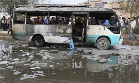 suicide bombing in the Shia district of Sadr City, in Baghdad, on 2 January.