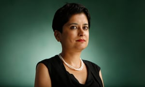 Shami Chakrabarti attends the Edinburgh international book festival.