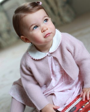 Princess Charlotte at Anmer Hall, in Norfolk.
