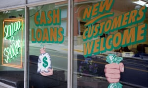 There are more payday loan storefronts in the US than McDonalds and Starbucks combined.