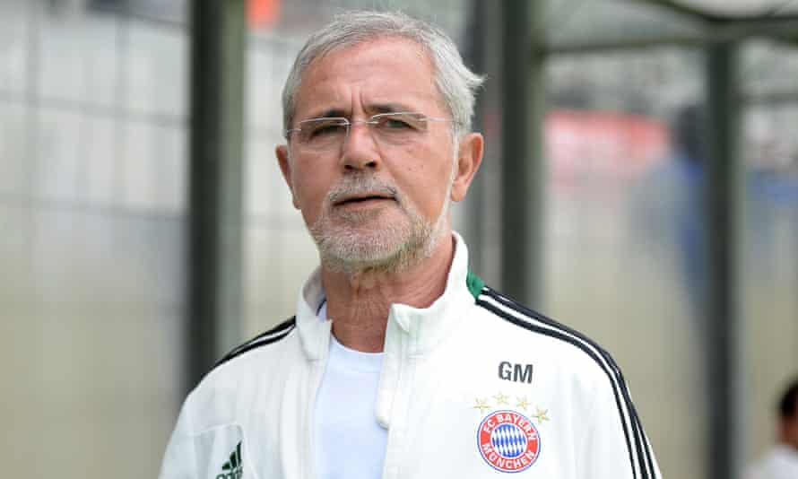 Gerd Müller, seen here in 2014 as a coach with Bayern Munich II, won the European Cup in three successive seasons from 1974 to 1976.