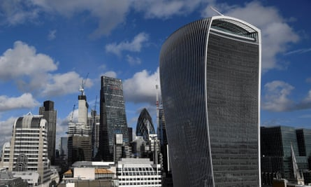 The City of London financial district