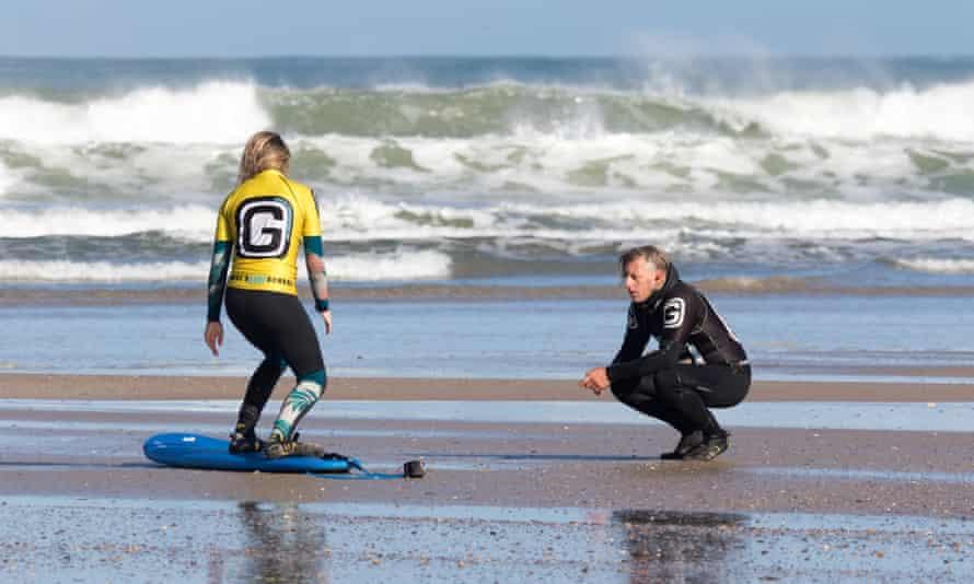 George's Surf School, Cornwall