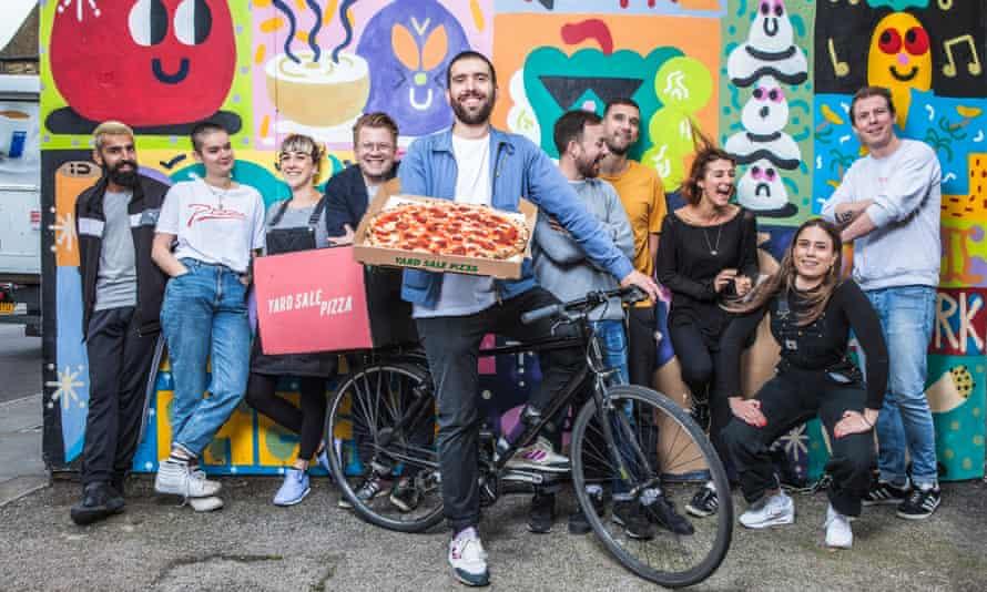 The Yard Sale Pizza team