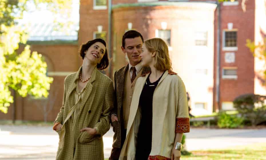 It takes three: Rebecca Hall, Luke Evans and Bella Heathcote in Professor Marston and the Wonder Women.