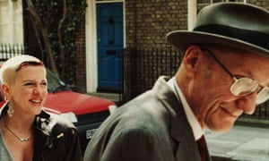 Acker with Burroughs in the documentary film A Man Within.