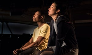 Luminous intensity … Patrick Elue and Norah Lopez Holden in Our Town.