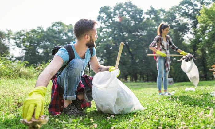 The #trashtag challenge: why the big litter cleanup is an online trend we  can all get behind | Social media | The Guardian