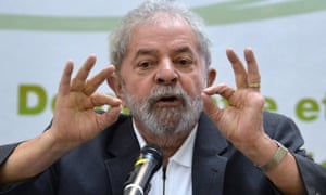 Lula faces a corruption case related to the Petrobras scandal and is being investigated for an allegedly much wider role in the scheme.