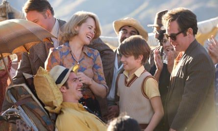 Hugh Bonneville, Claire Foy, Andrew Garfield, Harry Marcus and Tom Hollander in Andy Serkis's film about the life of pioneering polio survivor Robin Cavendish.