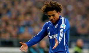 Schalke forward Leroy Sané