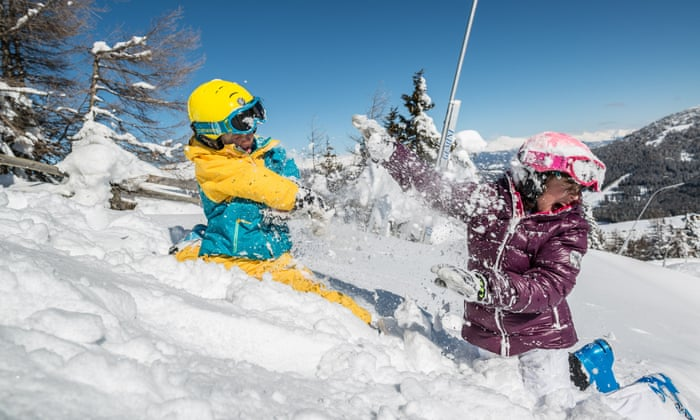 'It's really bonding when we've all spent the day on the slopes': how to introduce your children to a snow holiday