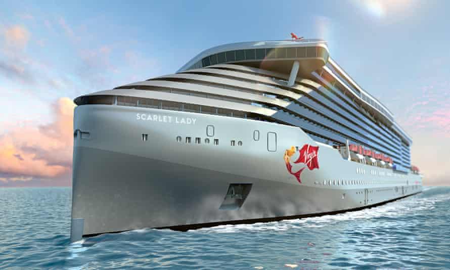 Scarlet Lady, Virgin Voyages' cruise liner