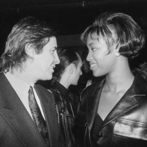 Naomi Campbell and John Casablancas