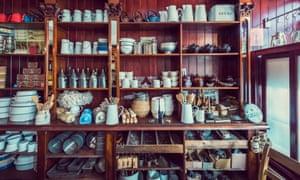 A display of traditional wares at St Fagans