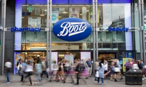 A branch of Boots the chemist.