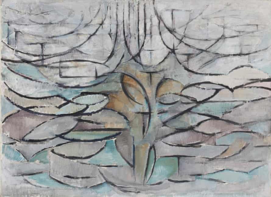 Seen from the inside … Flowering Apple Tree (1912).
