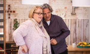 Markedly more aggressive than anyone else … Giorgio Locatelli with fellow judge Rosemary Shrager.