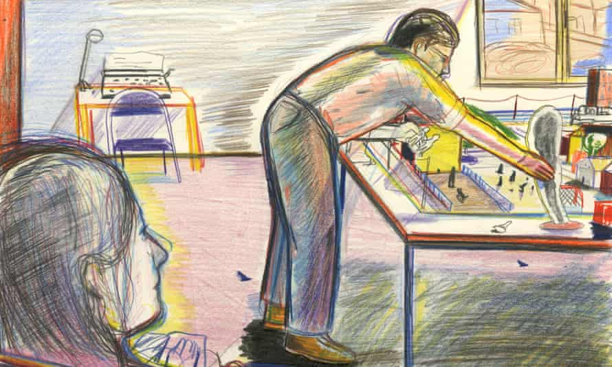 Illustration by Yann Kebbi for Review