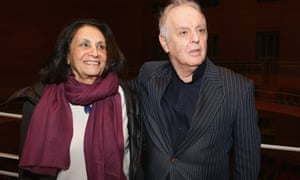 Barenboim and Mariam C Said, widow of literature professor Edward Said.